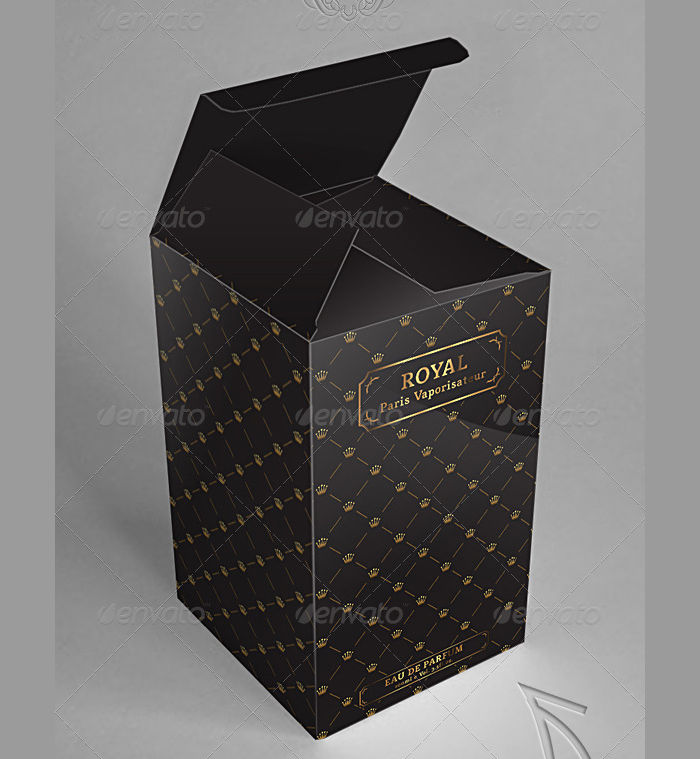 gift packaging box template