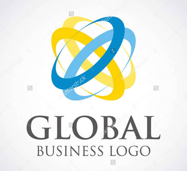 global business vector logo