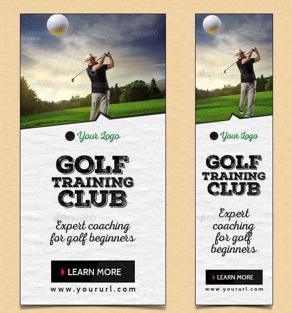 golf club banner