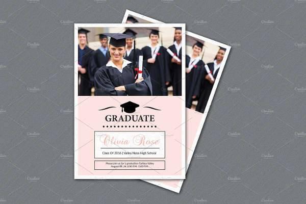 Graduation Announcement Flyer