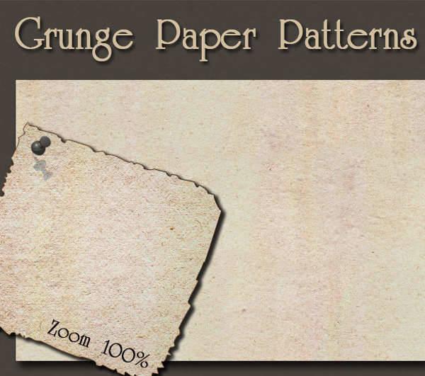 grunge paper patterns