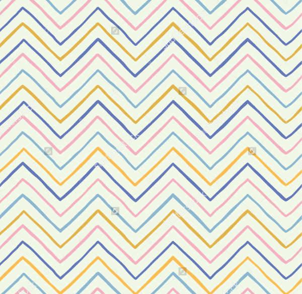hand drawn chevron patterns