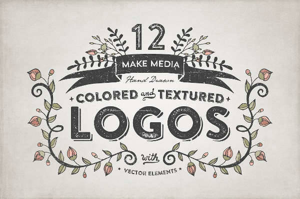 hand drawn vector logo