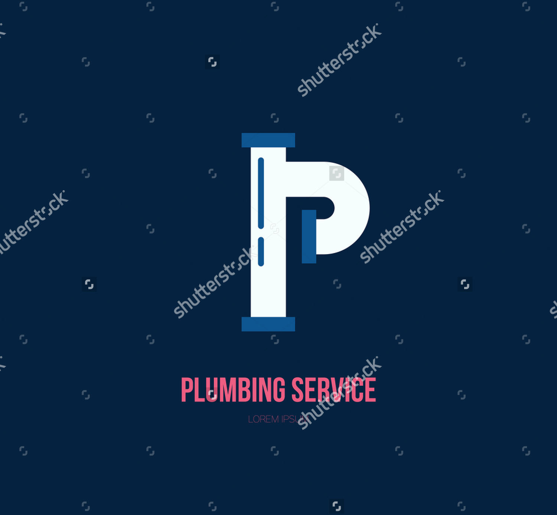 handymen plumbing service logo