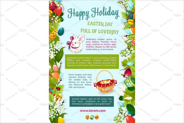 Happy Holiday Poster Greeting