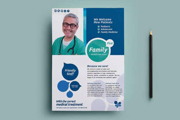 Health Clinic Flyer