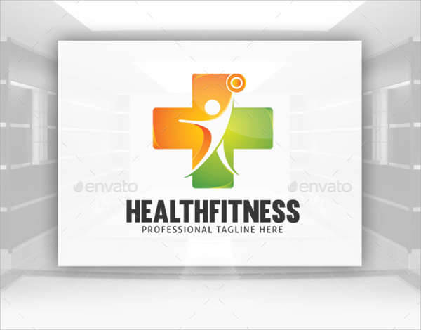 Health Fitness Logo Design