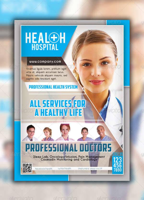 Health Hospital Flyer