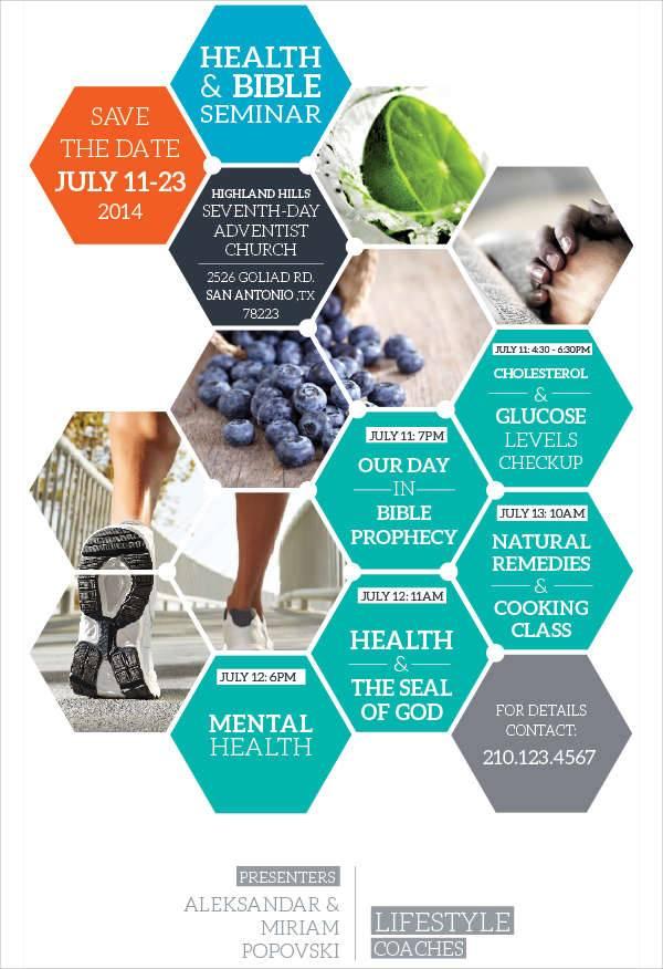 Health Seminar Flyer