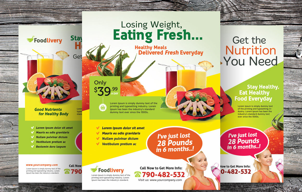 Healthy Food Flyer