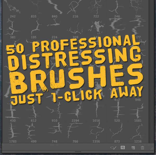 High Res Distressed Brushes