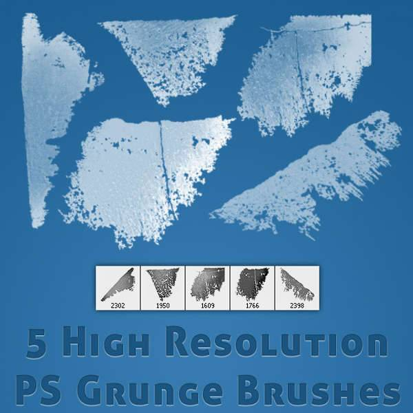 high res grunge brushes