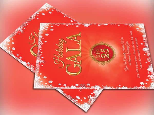 Holiday Gala Invitation