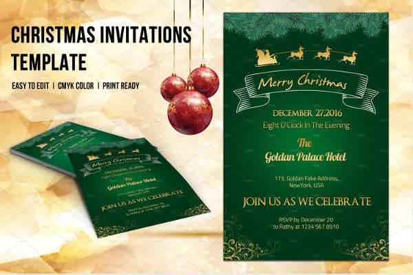Holiday Invitation Flyer