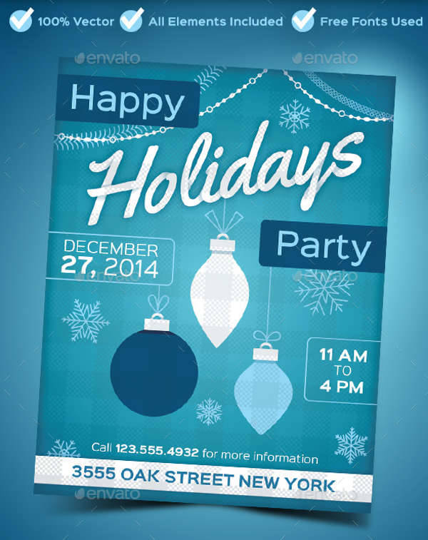 Holiday Party Poster
