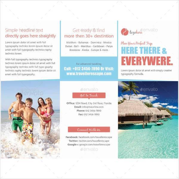 30  travel brochure designs