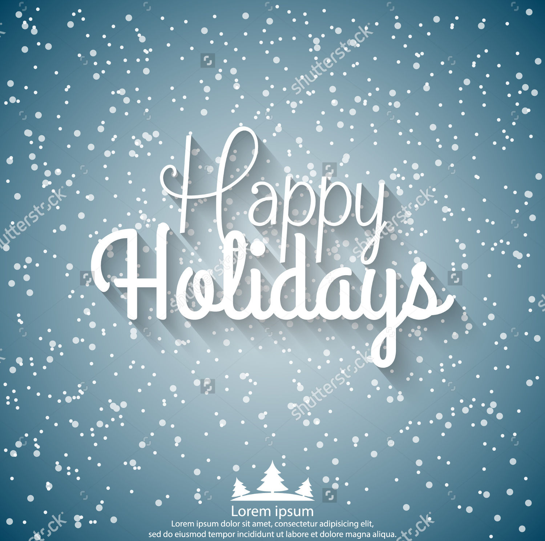 Holiday Vector Card Design