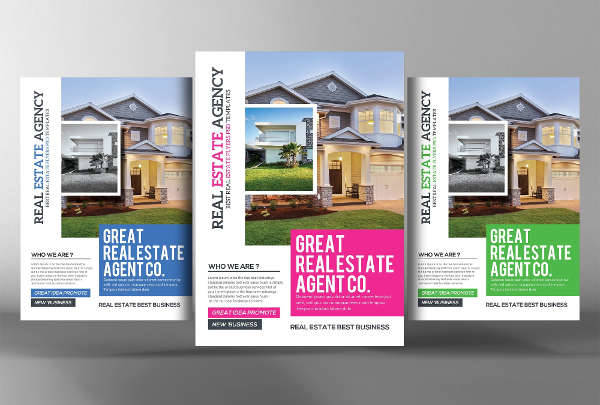 Home Real Estate Flyer PSD