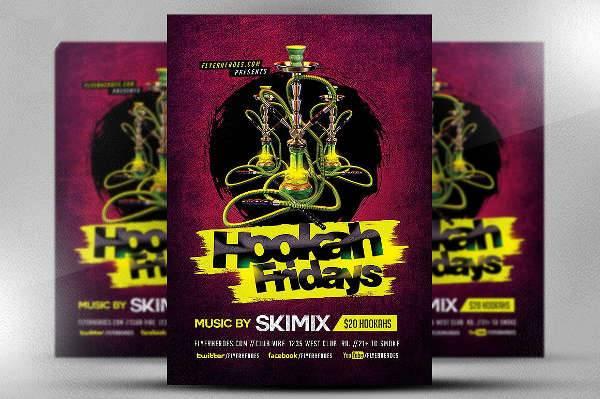 Hookah Fridays Flyer