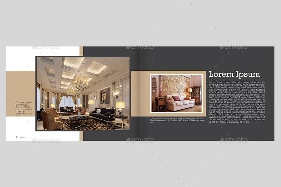 hotel booklet design
