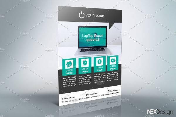 IT Services Flyer Design