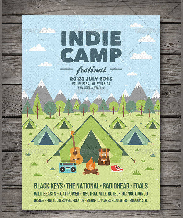 Camp Flyer Designs  Design Trends  Premium Psd Vector Downloads