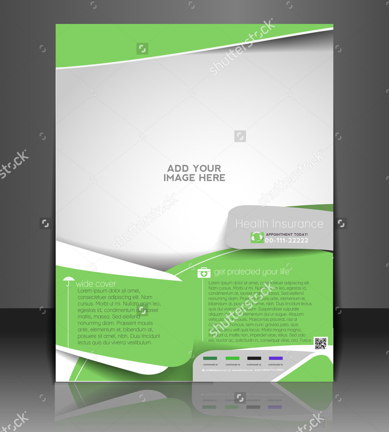 insurance cover template