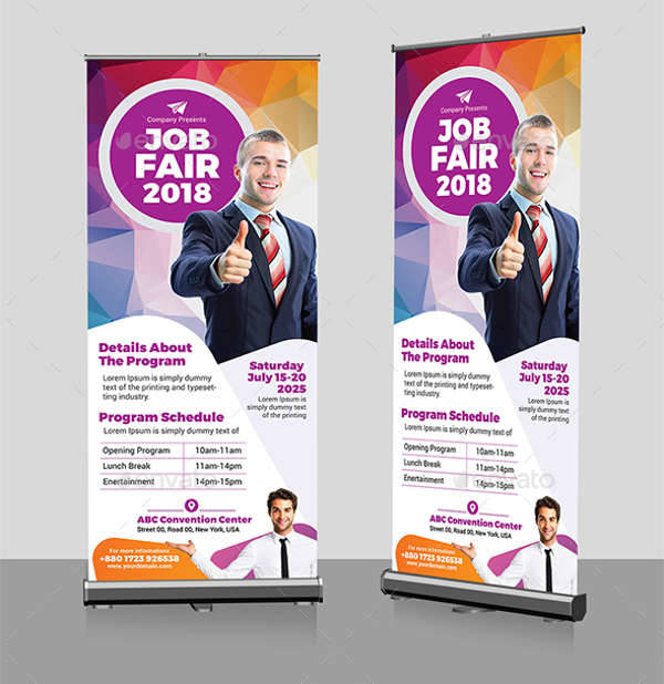 job fair ad banner