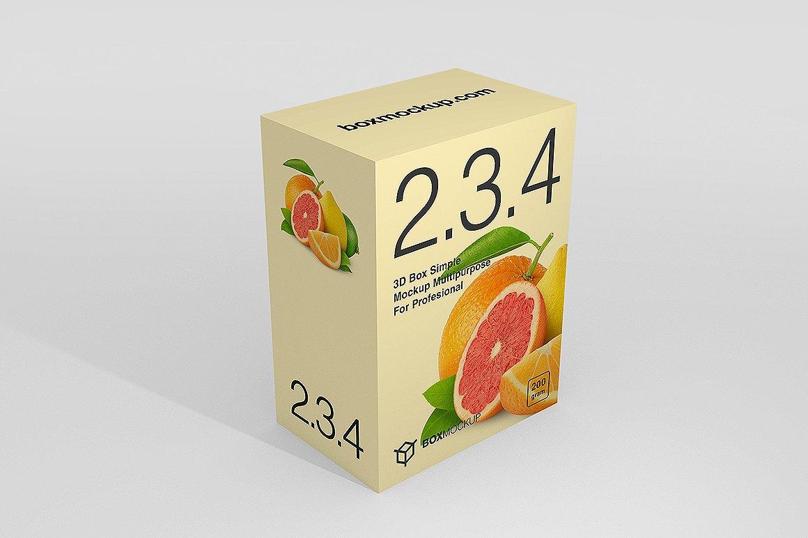 Juice Packaging Box