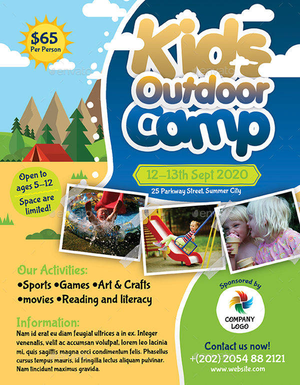 Kids Outdoor Camp