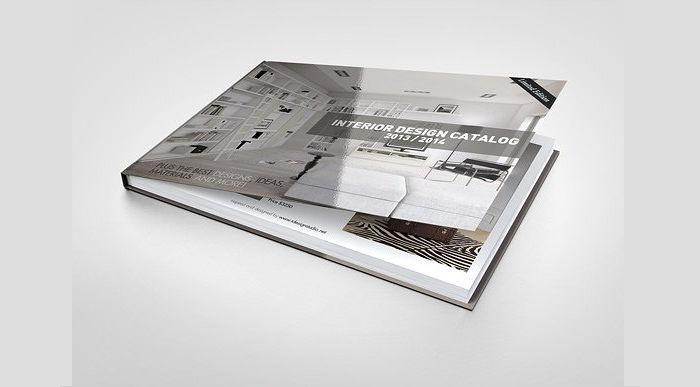 Landscape Book Mockup Design