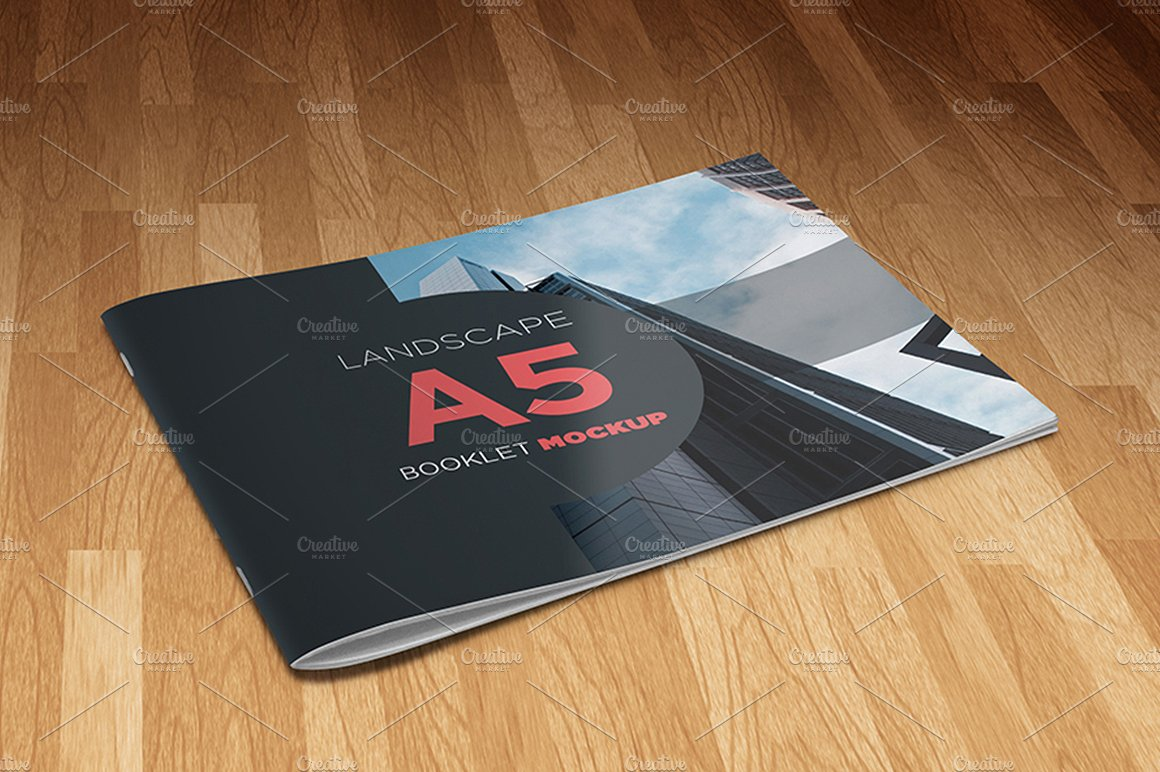 landscape booklet template