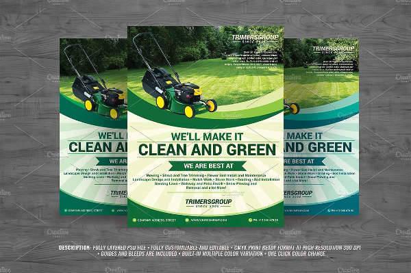 Lawn Garden Service Flyer