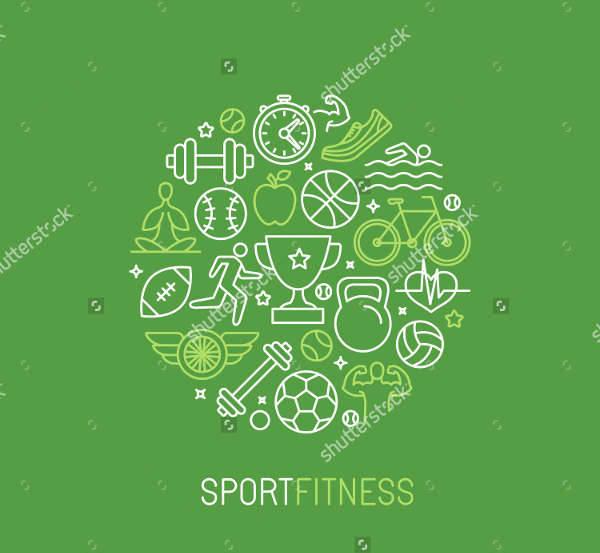 Linear Sport & Fitness Logo