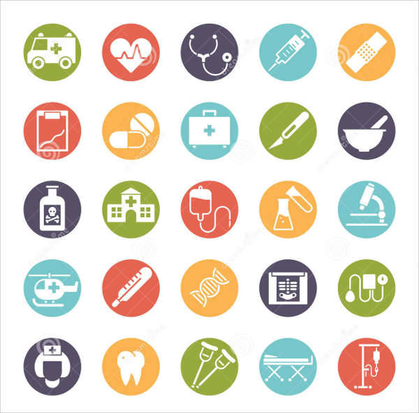 medical health icons