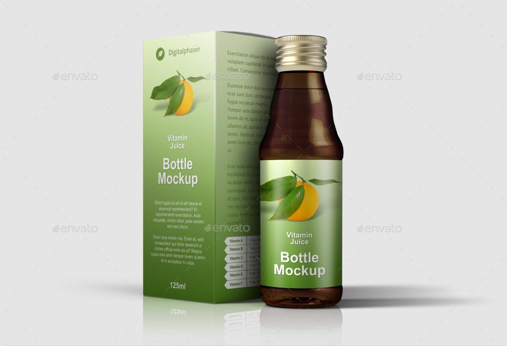 medicine syrup juice packaging