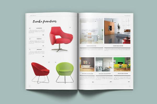 minimal product catalog