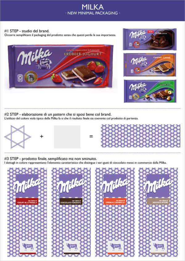 Minimalist Chocolate Packaging