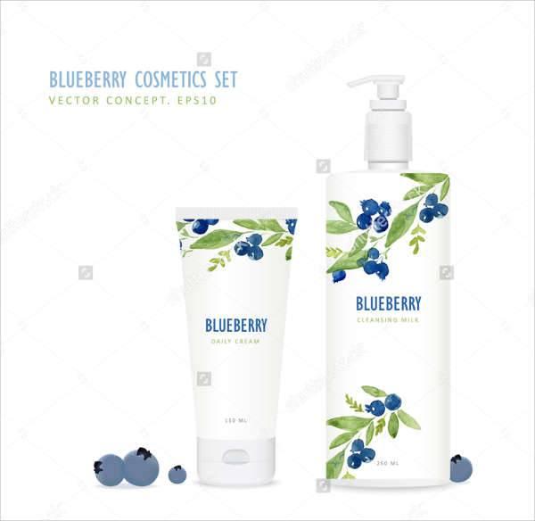 Minimalist Cosmetics Packaging