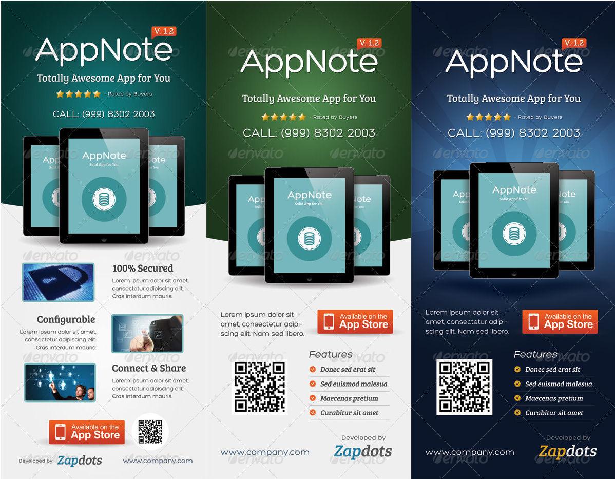 mobile app promotion roll up banner