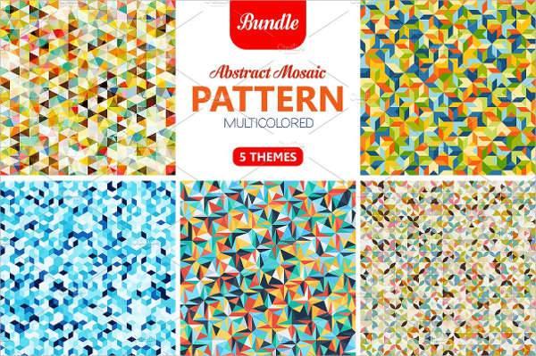 modern abstract mosaic design