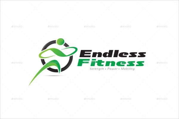 Modern Fitness Logo Template