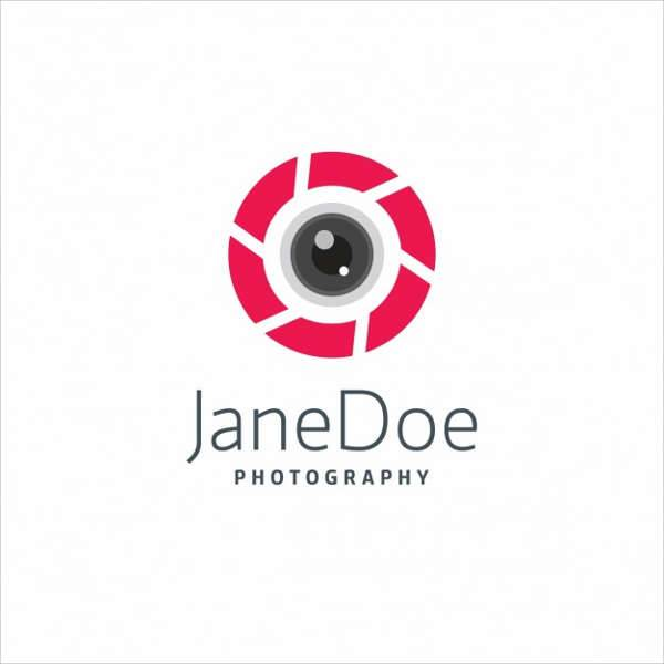 Modern Professional Photography Logo