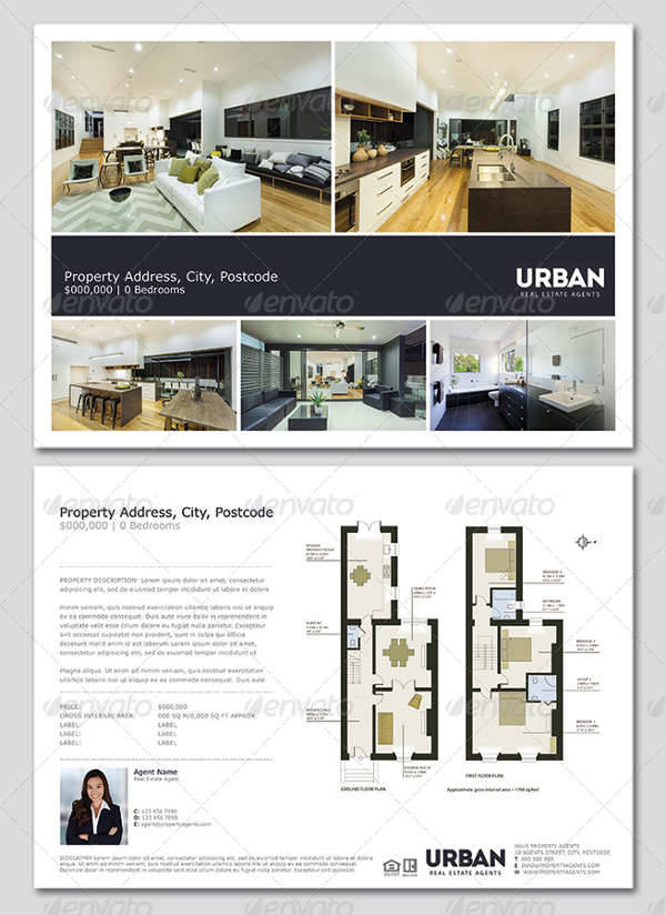 32  real estate flyer designs