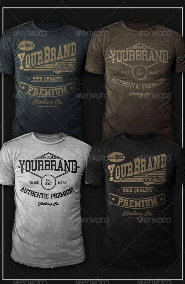 modern vintage t shirt