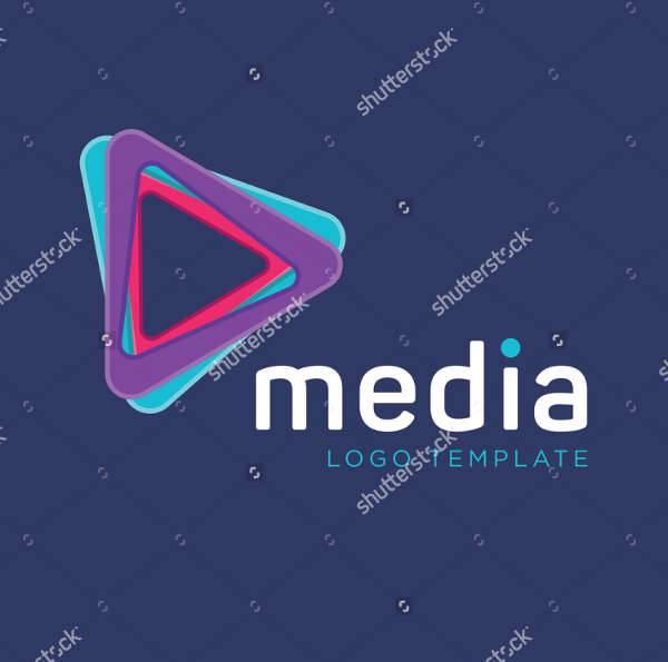 Multimedia Production Company Logo