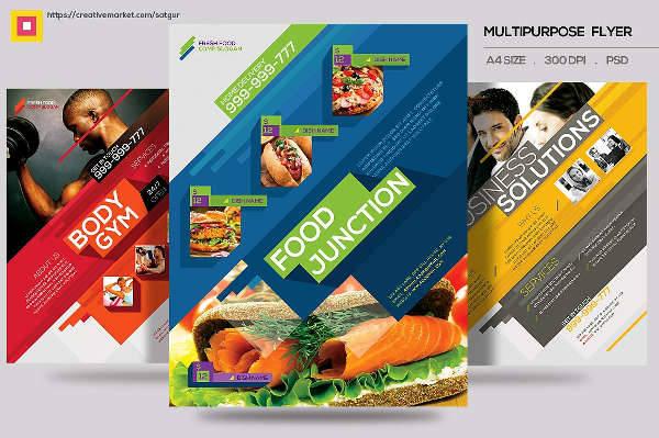multipurpose flyer ad