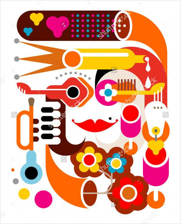 Music Abstract Illustration