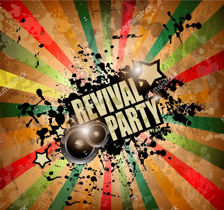 Music Event Retro Flyer