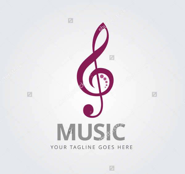 music sign company logo